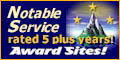 Award Sites! Noteable Service